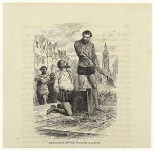 Execution of Sir Walter Raleigh... Digital ID: 814324. New York Public Library