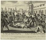 Pieter Pickaert: Die Enthauptung Des Herzogs Von Montmouth In London Am 25. Juli 1685. - Le Duc De Montmouth Decapitè À Londres En Public Le 25. Juillet 1685.