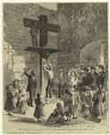 The Whipping-Post And Pillory At New Castle, Delaware.