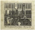 Execution Of Louis Xvi Of France.