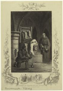 Jerome of Prague in the stocks ; John Huss before the council at Constance.