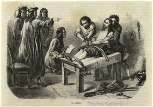 La torture. Digital ID: 814534. New York Public Library