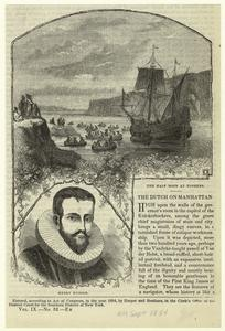 Henry Hudson ; The Half Moon at Yonkers.