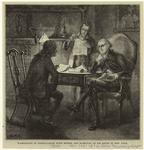 Washington In Consultation With Morris And Hamilton At His House In New York.