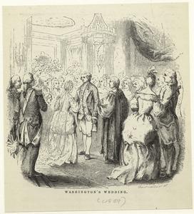 Washington's wedding.