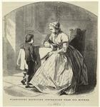Washington Receiving Instruction From His Mother.