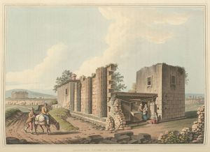 Ancient Temples at Agrigentum Digital ID: 81539. New York Public Library