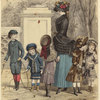 Woman And Children, France, 1882.]