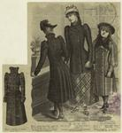 Girls In Coats, United States, 1890s.