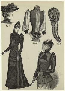 [Women's clothing, United States, 1890s.]