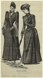 Walking-dresses.