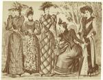 Les modes parisiennes, Peterson's magazine, June, 1891.