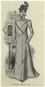 A boxcloth driving coat.