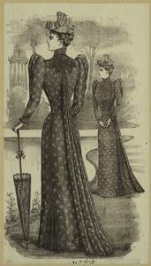 [Dress, England, 1890s.]