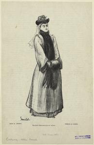 Boulevard Beaumarchais -- an actress.