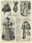 Collet Marie-Louse ; Manteau cache-poussière ; Costume Lèlia pour baigneuse ; Robe pour petite fille de cinq ans ; Mantelet primerose