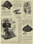 Collet mistral (devant et dos) ; Toilette de promenade ; Chapeaux d'enfants ; Jaquette tailleiur ; Collet Fèdora