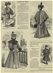 Toilette pour jeune fille de quinze ans ; Elégant manteau de voyage ; Manteau de voyage ; Manteau pour fillette de dix ans
