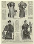 Manteau empire, pour fillete de douze ans ; Manteau Marguerite, pour fillette de dix ans ; Manteau de demi-saison ; Jaqquette Stella