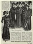 Ladies' long coat of real