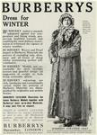 Burberry Fur-Lined Coat.