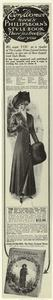 [Broadcloth coat, United States, 1910.]