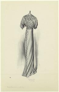 [Woman's dress, United States, 1910s.]
