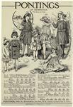 Pontings Of Kensington Advertisement For Children'S Clothing, England, 1910s.