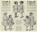 Various Styles Of Dresses For Girls, 1910s.