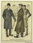 Short and long overcoats.