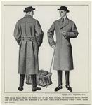 [Men wearing overcoats, U