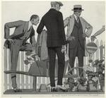 [Men and potted plants, 1