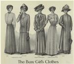 The Busy Girl'S Clothes.