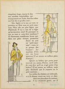 [Women's fashions, France, ca. 1921.]