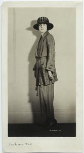 [Woman in hat and jacket, 1920s.]