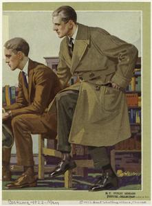 [Men siting, United States, 1920s.]