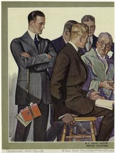 [Students, United States, ca. 1921.]