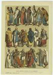 Edad Antigua : Trajes De Los Hebreros.