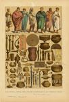 Edad Antigua : Trajes, Armas, Vasijas Y Adornos De Los Galo-Romanos Y Celtas.