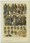 Edad Antigua : Trajes De Los Lidios, Frigios Y Troyanos.