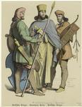Persischer Krieger, Vorne
