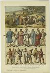Edad Antigua : Costumbres Y Trajes De Los Griegos.