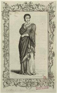 [Woman in robes.]