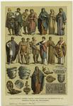 Edad Antigua--Trajes, Vasijas Y Esculturas De Los Romanos De Las Primeras Epocas De Cristianismo.