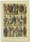 Edad Antigua--Trajes Militares Y Sacerdotales De Los Romanos.