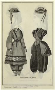 Bathing-dresses ; Hat and cap.