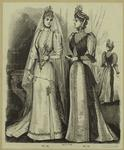 Woman In A Wedding Gown, Woman In A Dress, 19th Century.