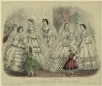 Godey'S Fashions For December 1862.