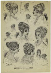 Coiffures de mariées. Digital ID: 817842. New York Public Library