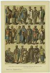 Edad Media --Trajes De Los Bizantinos Desde El Año 1000 Al 1200.
